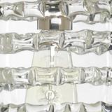 Small Clear Glass Ribbon Pendant
