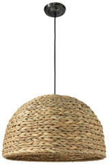 Shoreline Pendant in Natural Seagrass