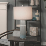 Coastal Water Blue Table Lamp