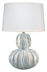 Oceane Urchin Table Lamp in Ceramic