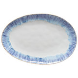 Brisa Ria Blue Large Oval Platter