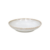 Taormina White Pasta Serving Bowl
