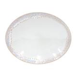 Taormina White Oval Platter