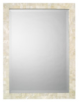 Sea Chic Mirror in Mother of Pearl