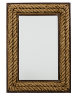 Swashbuckler's Jute Rope Mirror