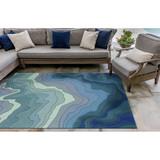 Blue Tide Water Indoor-Outdoor Area Rug outdoor room