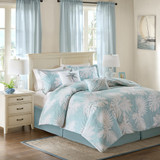 Sea Palm Grove Comforter Set - Full Size