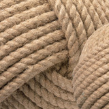 Jute Rope Wrapped Balls - Set of Three close up