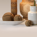 Jute Rope Wrapped Balls - Set of Three room view 1