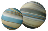 Sand and Shore Glass Float Balls - Set of 2
