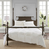 Light Warmth Oversized Down Comforter Insert - King Size  view 1