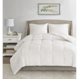 All Season Warmth Oversized Down Comforter Insert - Queen Size