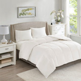 All Season Warmth Oversized Down Comforter Insert - Queen Size view 2