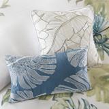 Lorelai Paradise Duvet + pillows close up 1
