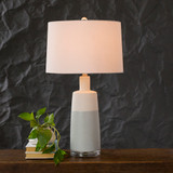 Brighton Beach Table Lamp light on