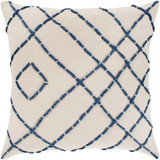 Stinson Beach Cottage Cream Pillow