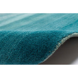 Arca Aqua Plush Wool Rug roll image