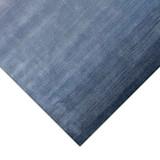 Arca Sea Blues Plush Wool Rug corner close up