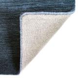 Arca Sea Blues Plush Wool Rug backing