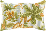 Palm Beach 13 x 20 Grey Striped Pillow