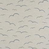 fabric close up sea and sky pillow