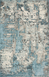 Teal Flow Watercolors Rug