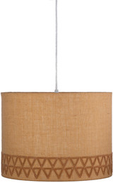 Santa Cruz Natural Jute Lighting Pendant