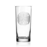 Sand Dollar Cooler Glasses -single glass