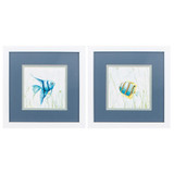 Fish Reef Encounter Fun Prints Set of Two