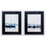 Watercolor Yacht Club - Set of Two