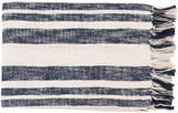 Portsmouth Striped Woven Throw