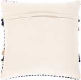 Avalon Shore Hand-Woven 18 x 18 Pillow back