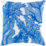 Royal Blue Sea Life Pillow