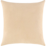 Sand and Ivory Shell Printed Pillow back