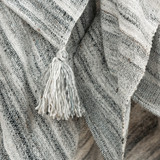 Ocean Sand Treasure Woven Throw close up