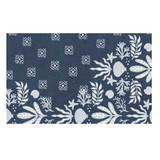 Deep Blue Neptune Accent Rug