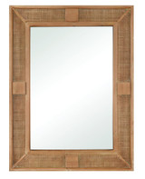Rattan Cabana Rectangle Mirror view 1