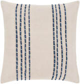Marin Beach Cottage Cream Pillow 22 x 22