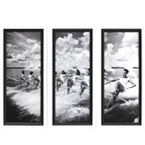 Vintage Water Ski Parade Prints - Set of Three
