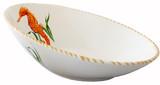 Seahorse Diagonal Deep Serving Bowl