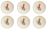 Seahorse Small Plates - Set of Six