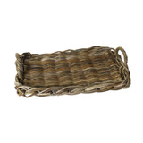 Sonoma Rattan Serving Trays - Set of 2 small