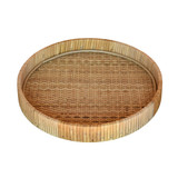 Cayman Medium Rattan Tray