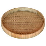 Cayman Large Rattan Tray