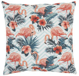 Life Styles Tropical Flamingos Pillow