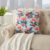 Life Styles Tropical Flamingos Pillow room view 1