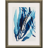 Blue Drift II Framed Giclee Art