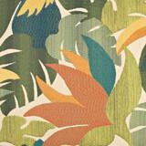 Parrots of the Caribbean 24 x 24 Pillow close up fabric