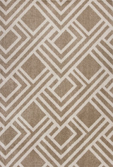 Beige Moderne Lucia Indoor-Outdoor Rug