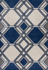 Denim Grant Lucia Indoor-Outdoor Rug
